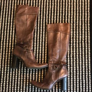 Authentic Costume National Leather Boots